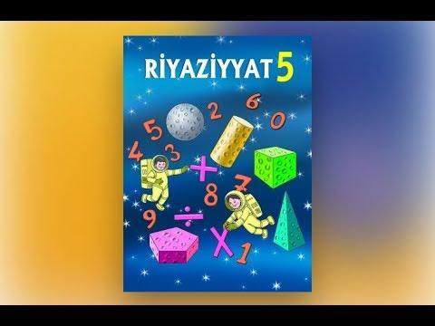 Riyaziyyat 5 ci sinif sehife 37, 38, 39. Natural ededler uzerinde bolme emeli / Rasim Aliyev