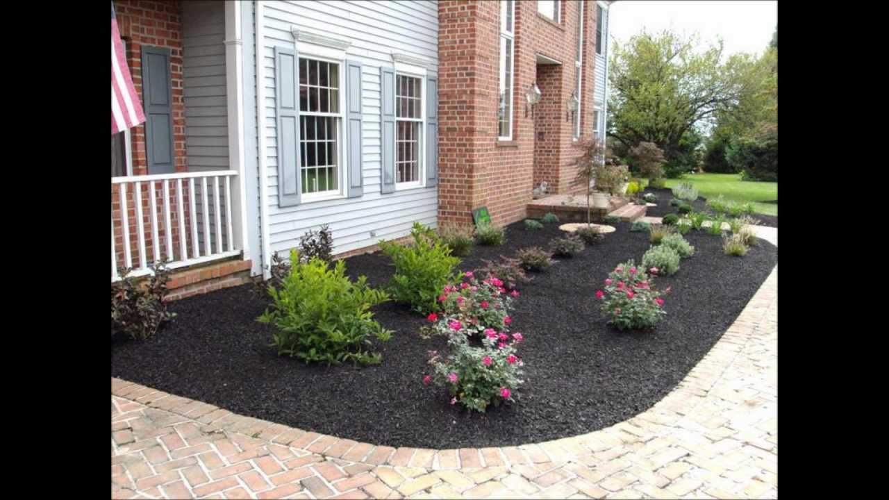 Front yard landscape ideas - Ryan's Landscaping - 717-632-4074 - Hanover,  Pa 17331 - YouTube