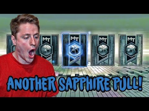 SAPPHIRE PULL IN NEW HIGH FLYER PACKS! HUGE NBA 2K17 MY TEAM PACK OPENING!