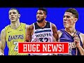 TOWNS TO PHOENIX! LAKERS WOULD TRADE LONZO! NEW NBA TEAMS! | NBA NEWS