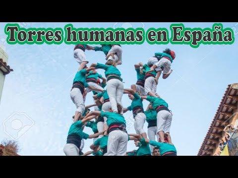 Torre Humana En España.... ¡ESPECTACULAR!