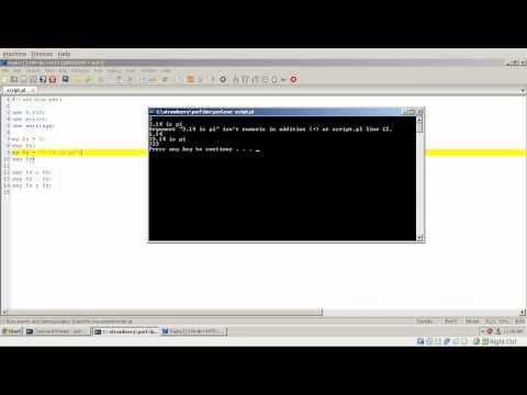 Modern Perl Tutorial - part 02 - scalars