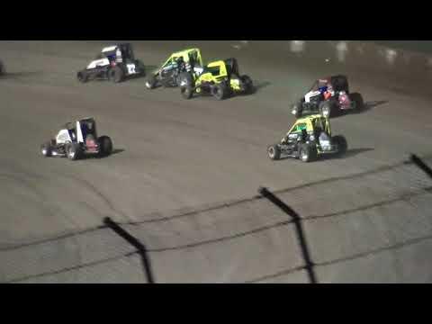 Eldora Speedway Midget Feature 9-22-18