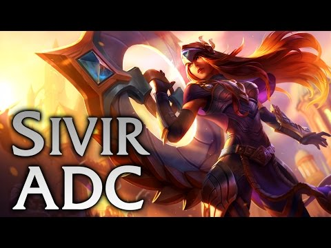 Victorious Sivir ADC - Full Game Commentary