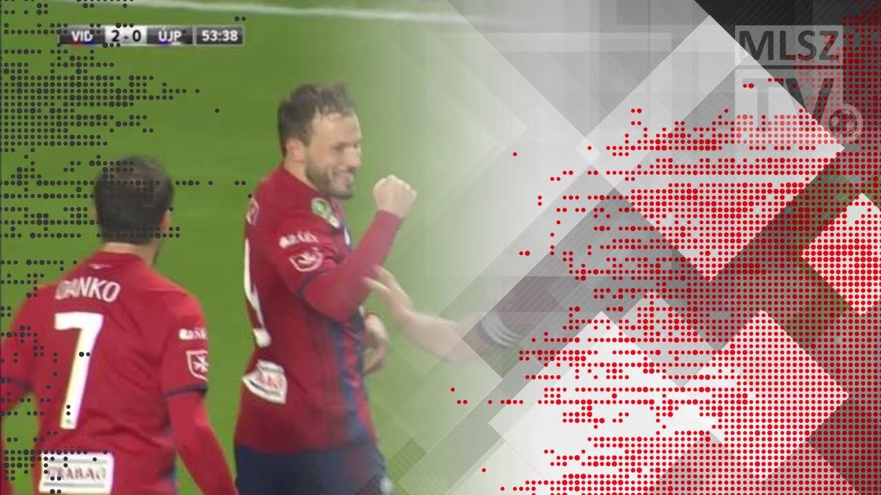 Huszti Szabolcs gólja a Videoton FC - Újpest FC mérkőzésen