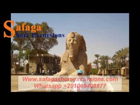 Tour to Saqqara, Memphis and Dahshour from Port Said || Safaga Shore Excursions