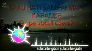 NELLA KHARISMA -SATU HATI SAMPAI MATI - karaoke tanpa vocal cowok dangdut koplo