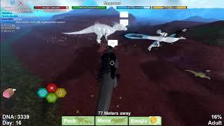 Albino Terror vs Avinychus (Dinosaur Simulator) - Roblox
