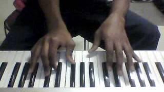 Erykah Badu Agitation on Piano