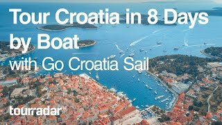 Tour Croatia in 8 Days by Boat with Go Croatia Sail