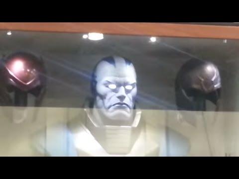 Monsterpalooza 2016 - Ironhead studios Apocalypse movie bust (magneto helmet, Batman vs Superman,
