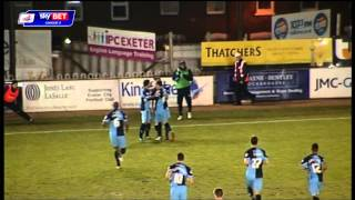 Exeter City vs Wycombe Wanderers - League Two 2013/14
