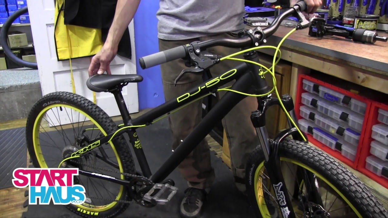 KHS DJ50 BMX Pump Track Review - YouTube