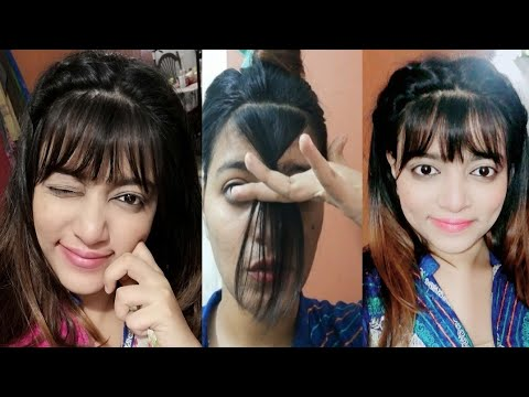 HOW I CUT MY BANGS AT HOME | How To Cut Front Bangs
