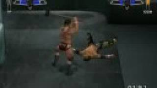 Smackdown Vs Raw 2007 on my PC (video 2/2)
