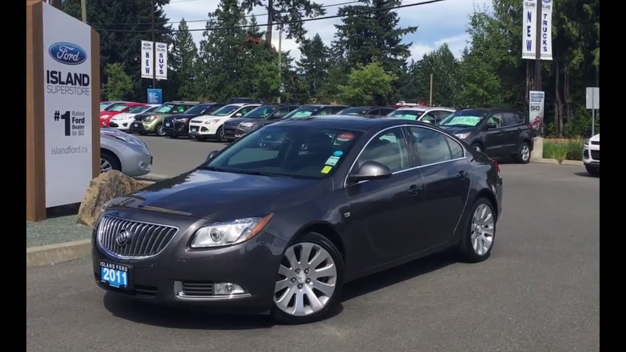 2011 buick regal cxl turbo w leather sunroof review. Black Bedroom Furniture Sets. Home Design Ideas