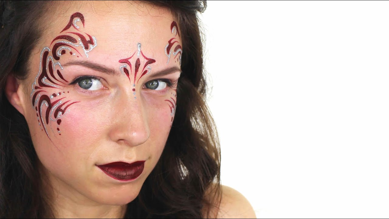 Easy Holiday Face Painting