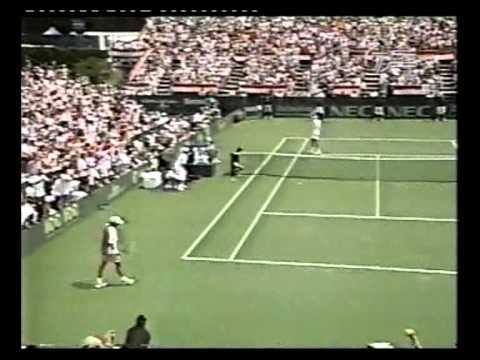 1999 Davis Cup (Highlights) - P. Rafter vs T. Martin