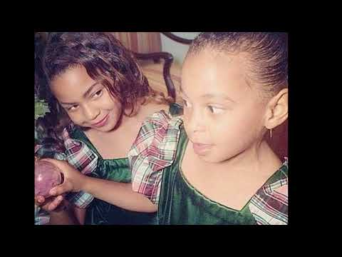 BEYONCE and SOLANGE THROWBACK PICS - This Is How These Beautiful Sisters Looked