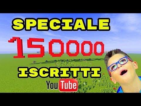 SPECIALE 150.000 ISCRITTI - FESTEGGIAMO SU MINECRAFT - Leo Toys