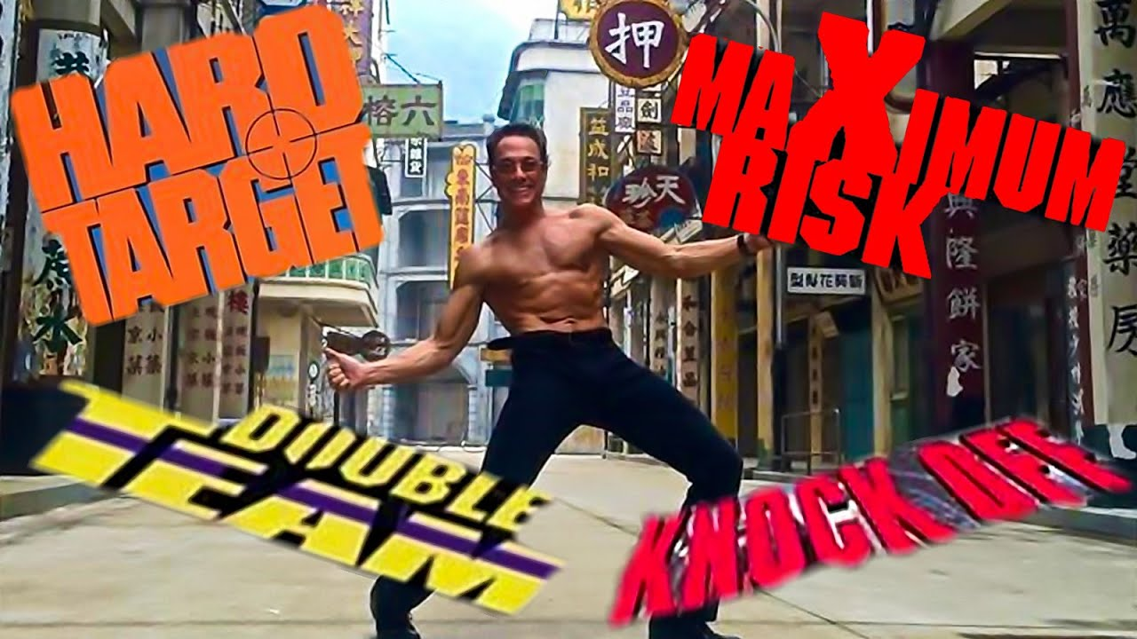 The Time JEAN-CLAUDE VAN DAMME worked with great HONG KONG directors (FULL VERSION / Parts 1-4)