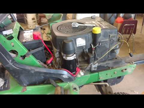 John Deere LT133 Starter Replacement