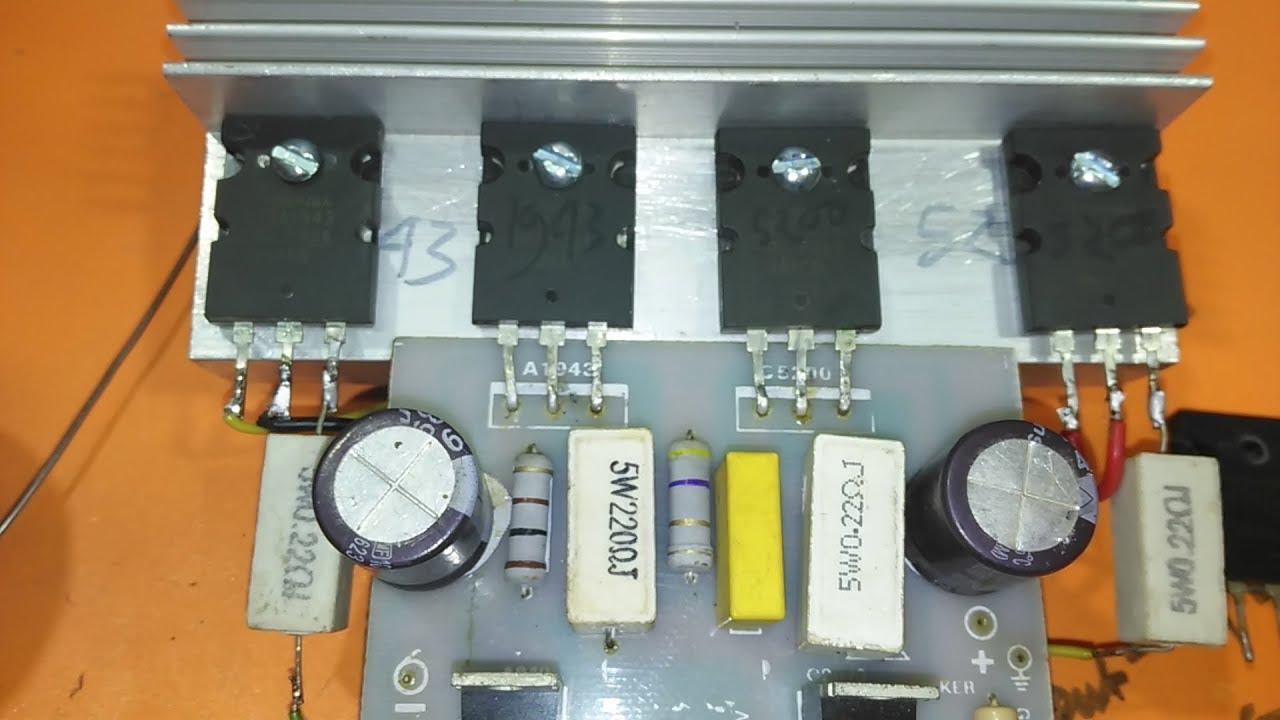 How To Make A 1000 Watt Amplifier Youtube Circuit Amplifiercircuitsvacuumtube Amplifiercircuit Howtomakeamplifier 2sc5200