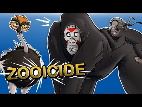 Thumbnail: Zooicide - ANIMAL WARFARE!!! (MUST ESCAPE ZOO!)