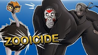 Zooicide - ANIMAL WARFARE!!! (MUST ESCAPE ZOO!)