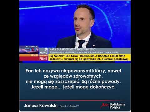 Janusz Kowalski o Jarosławie Gowinie: różnię się z nim pięknie!