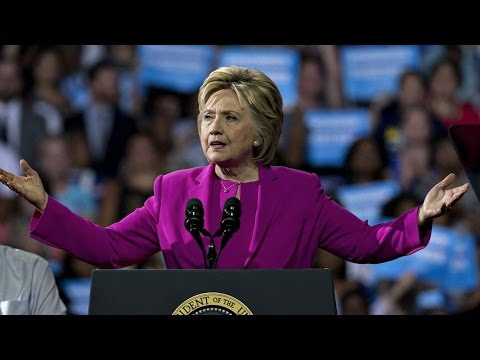 Hillary Clinton and Michelle Obama Speak at North Carolina Rally