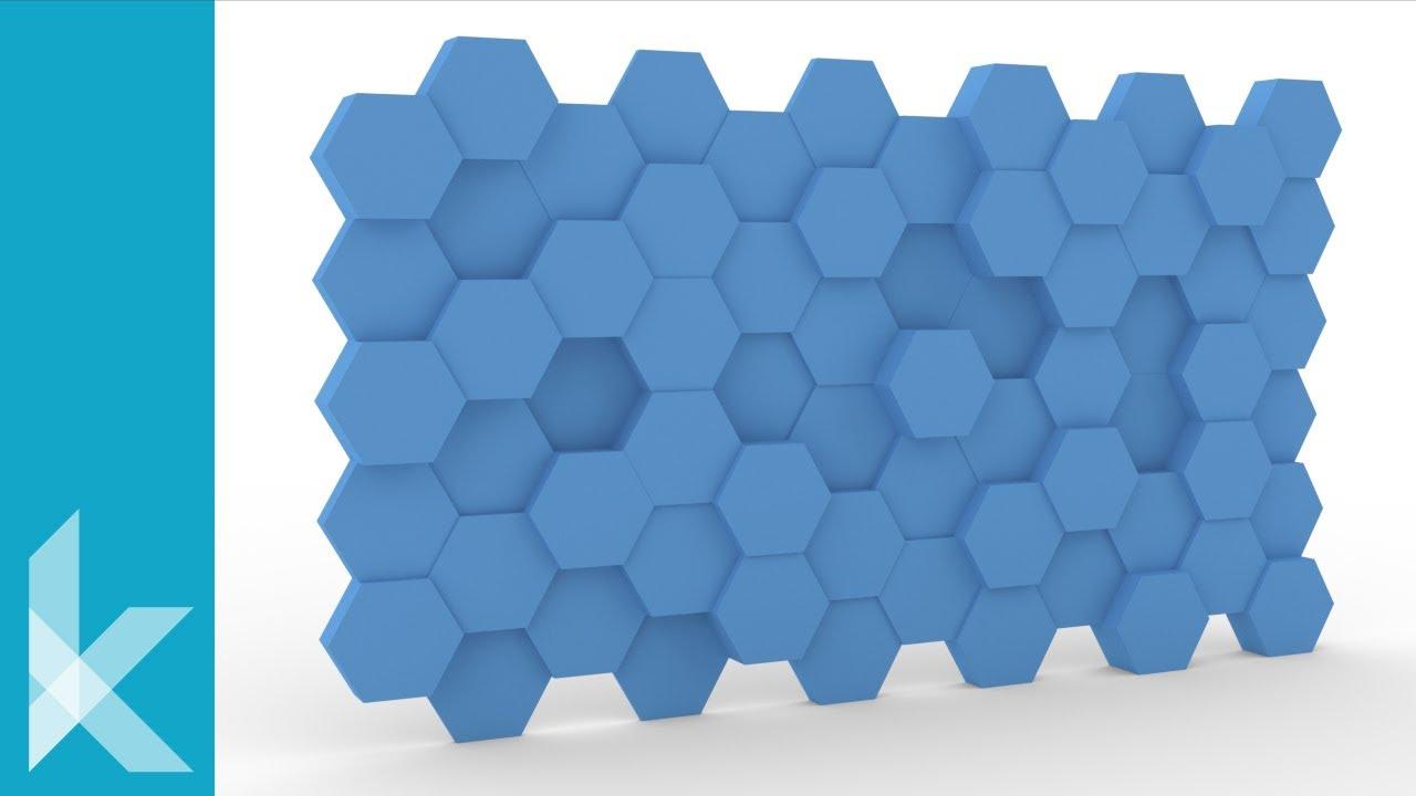 Grasshopper Tutorial | Hexagon Panels