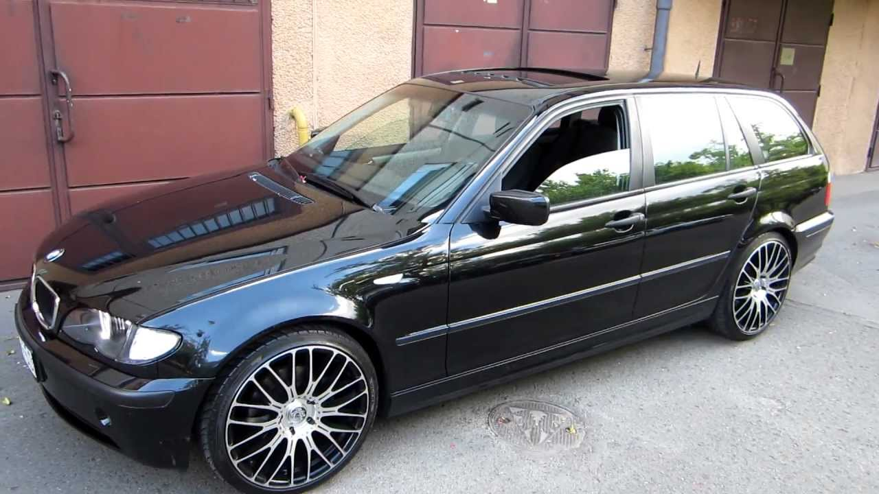 bmw e46 320d touring with smd led angely eyes on vortex. Black Bedroom Furniture Sets. Home Design Ideas