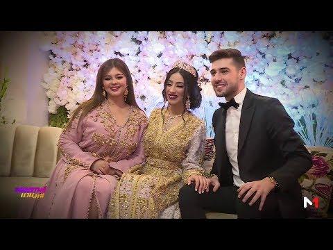 كاميرا #بيناتنا تنقل أجواء حفل زواج  الثنائي الشهير ماريا نديم وكاظم