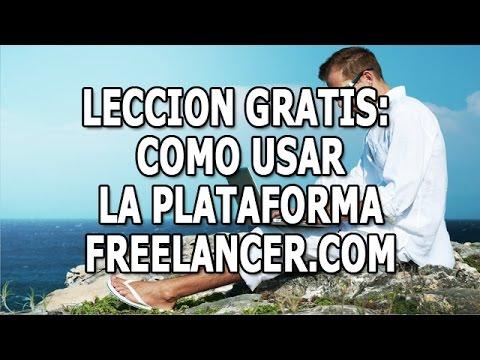 Como Usar Una Plataforma Para Freelancer - LECCION GRATIS - VideoCursos.com