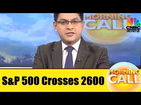 S&P 500 Crosses 2,600 For The First Time | Business NewsToday | 27th Nov | CNBC Awaaz