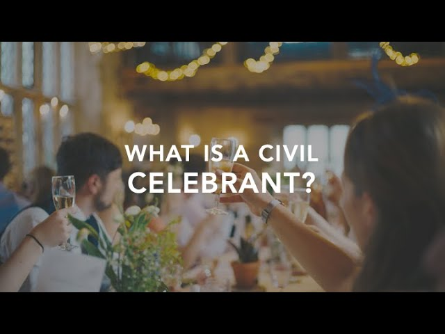 What is a Civil CELEBRANT? How can they conduct my WEDDING!