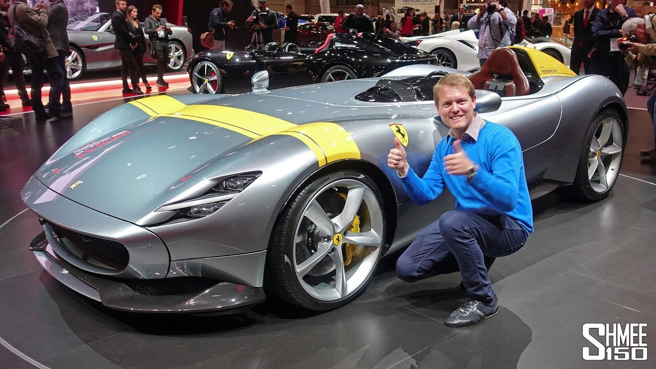 Check Out The 1 6m Ferrari Monza Sp1 And Sp2 First Look Youtube