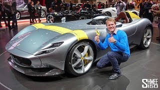 Check Out the €1.6m Ferrari Monza SP1 and SP2! | FIRST LOOK
