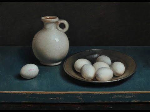 Old master -ly still life painting demo
