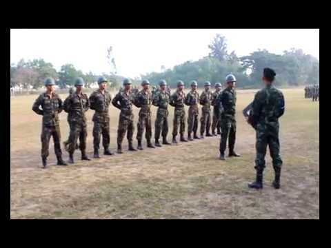 วีดีโอฝึกทหารใหม่หน่วยฝึกที่ ๑ 2/56 พัน.สร.22 พัน.สบร.22 และพัน.สข.22 บชร.2