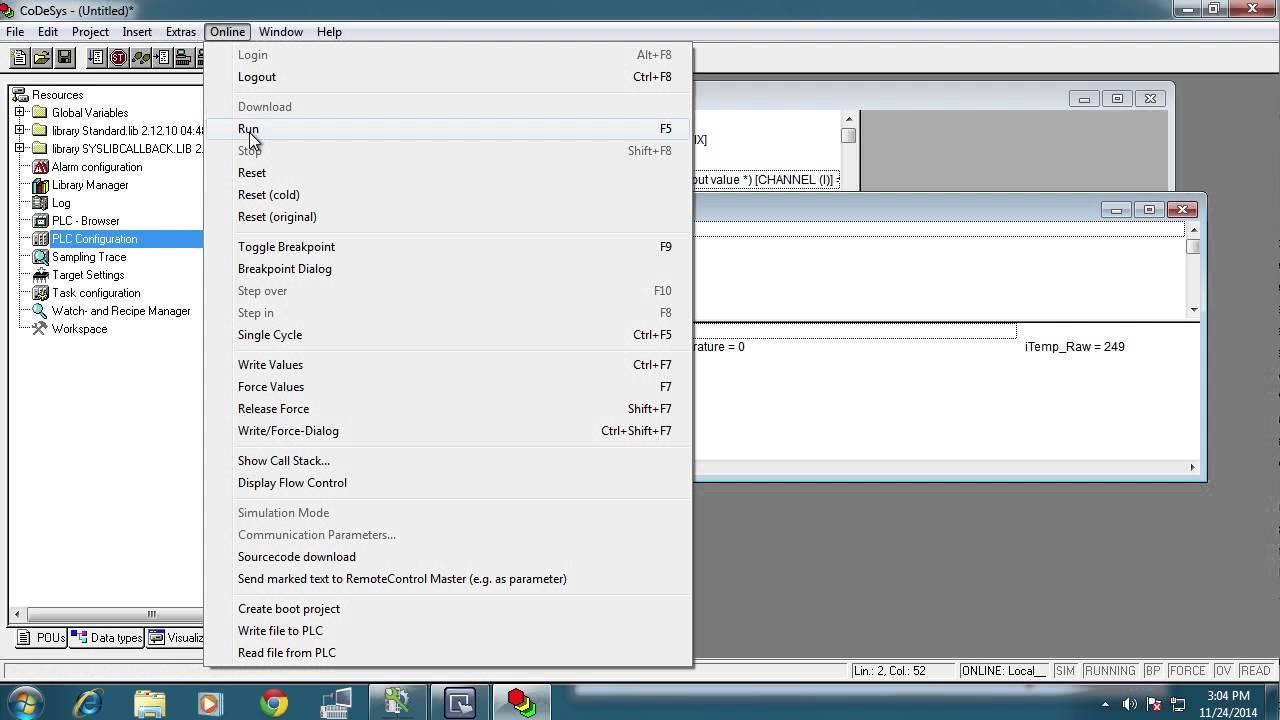WAGO PLC (CoDeSyS) & Modbus/TCP HMI
