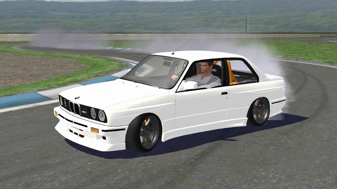 SLRR - BMW M3 E30 LS3 swap drifting on Gianni De Luca