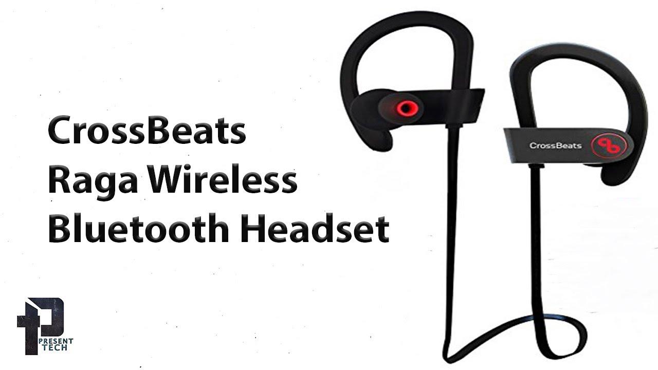 f961c4f0eb5 CrossBeats Raga Wireless Bluetooth Headset   Un-boxing and Review ...