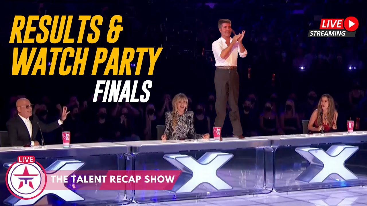 America's Got Talent SHOCKING FINALE RESULTS & WATCH PARTY