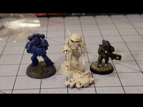 Wargames Exclusive/ Grimskull Miniatures: Greater Good Ronin unboxed