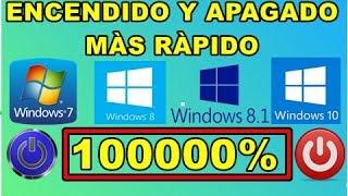 COMO HACER PARA QUE LA PC ENCIENDA MAS RAPIDO 2017 FULL 1000000%/APAGADO RAPIDO.