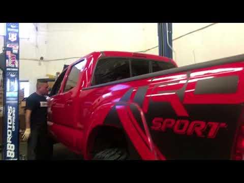 "Toyota Tacoma on Fox Suspension, BMC on Tundra, & 4"" Pro Comp Lift on Jeep JK"