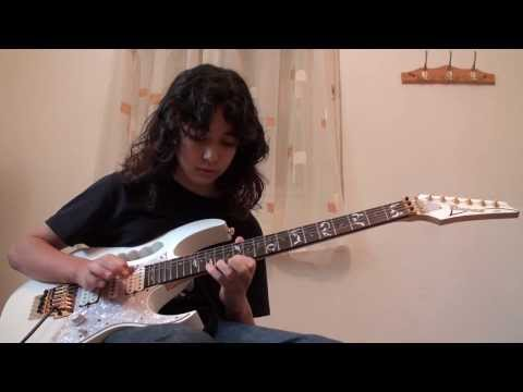Megadeth - Dread and the fugitive mind Solo 12 years old Guitar cover