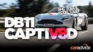 DRIVEN: Aston's AMG-powered DB11 V8! | CarAdvice